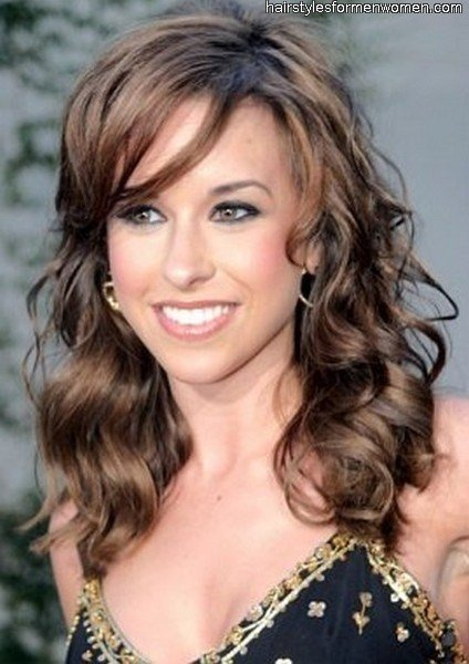 New Layered Hairstyles With Side Swept Bangs For Medium Length Hair Ideas With Pictures