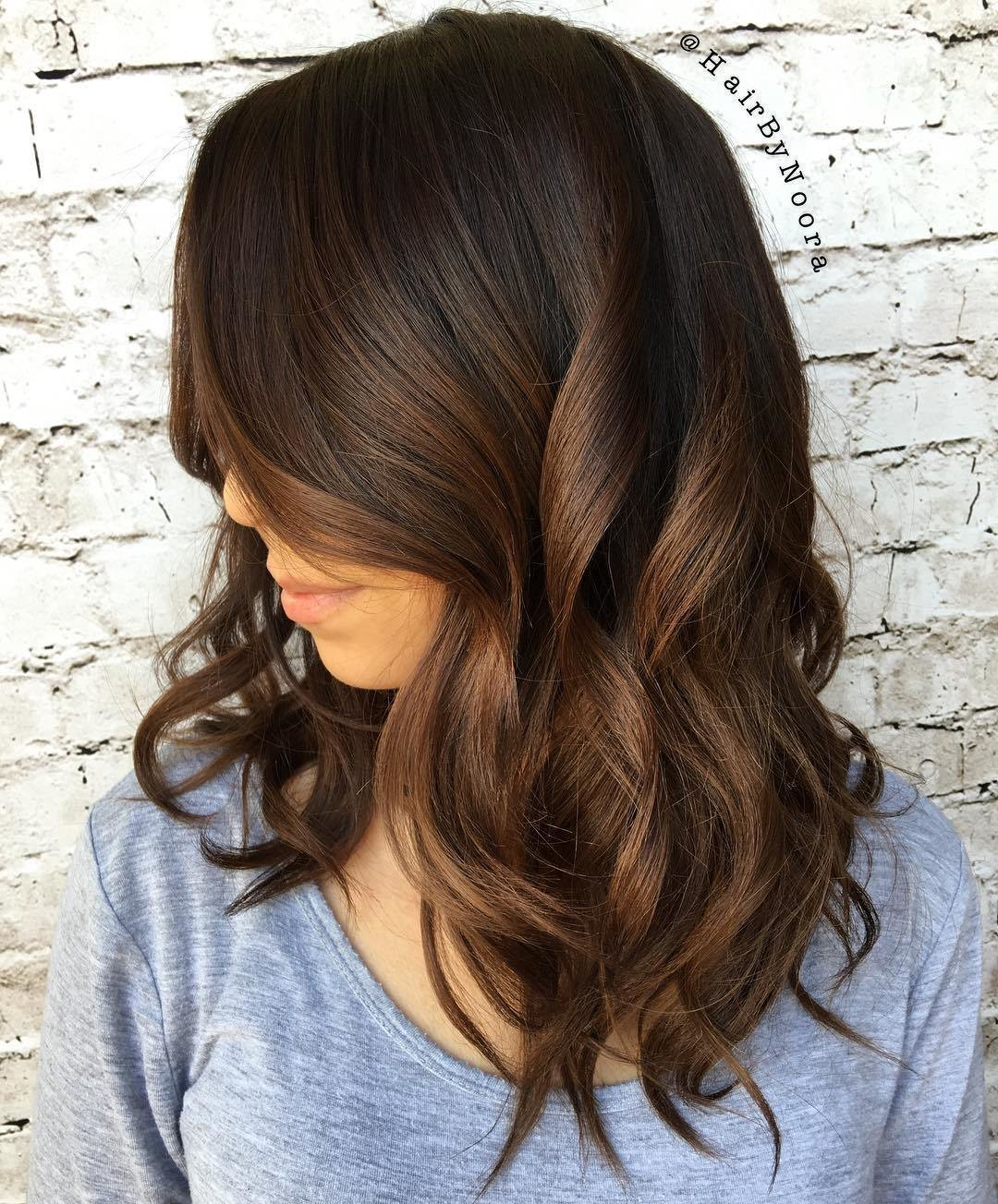 New 60 Chocolate Brown Hair Color Ideas For Brunettes Ideas With Pictures