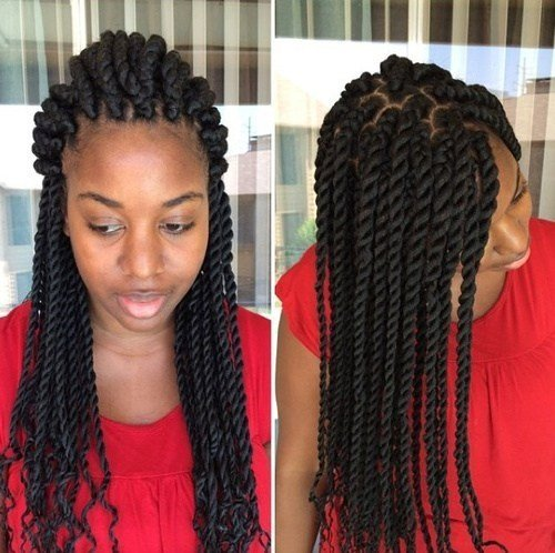 New 40 Chic Twist Hairstyles For Natural Hair Ideas With Pictures