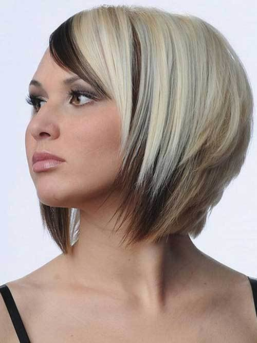 New 15 Two Tone Hair Color Ideas For Short Hair Crazyforus Ideas With Pictures