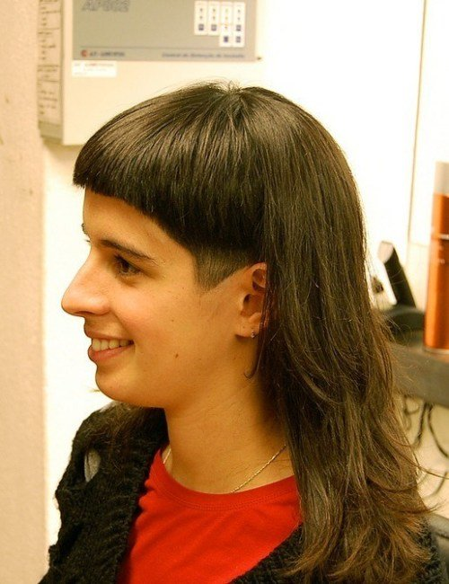 New Dramatic Long And Short Haircut With Bangs Hairstyles Weekly Ideas With Pictures