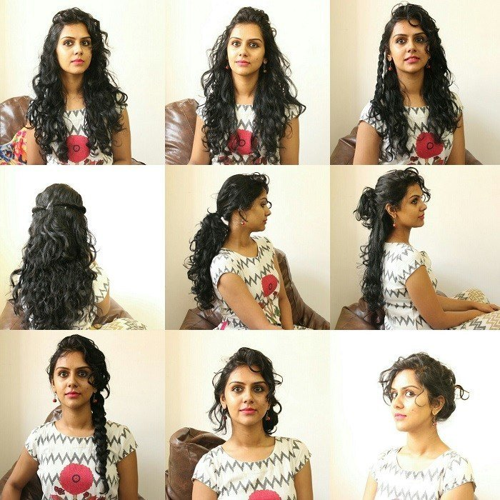 New 11 Easy Everyday Hairstyles For Curly Hair Ideas With Pictures