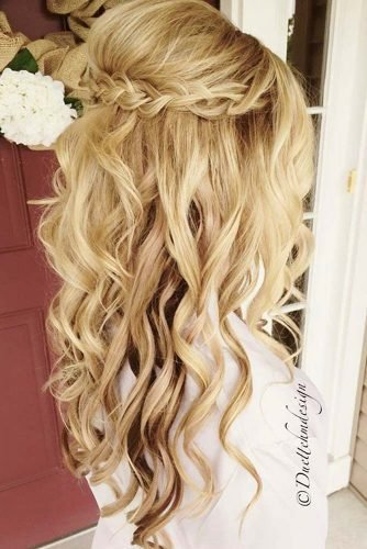 New Try 42 Half Up Half Down Prom Hairstyles Lovehairstyles Com Ideas With Pictures