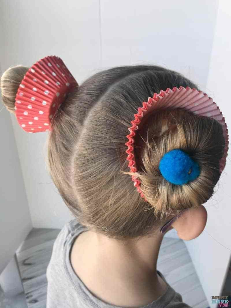 New Crazy Hair Day Ideas Girls Cupcake Hairdo Must Have Mom Ideas With Pictures