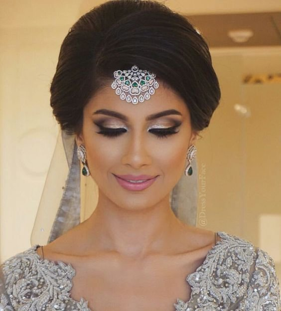 New 18 Most Pinned Indian Bridal Hairstyles Indian Makeup Ideas With Pictures