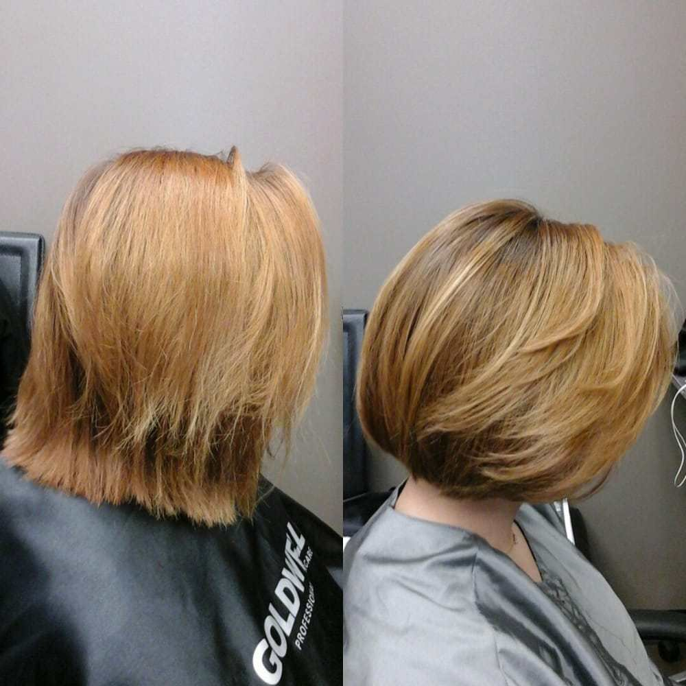 New Before And After Bob Haircut Yelp Ideas With Pictures