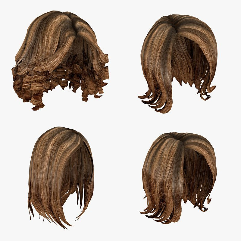 New 3D Model Of Female Hairstyles Pack Ideas With Pictures
