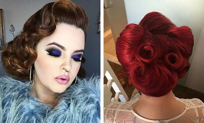 New 21 Pin Up Hairstyles That Are Hot Right Now Page 2 Of 2 Ideas With Pictures