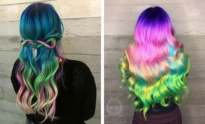 New 31 Colorful Hair Looks To Inspire Your Next Dye Job – Stayglam Ideas With Pictures