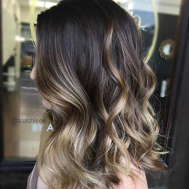 New 47 Stunning Blonde Highlights For Dark Hair Stayglam Ideas With Pictures