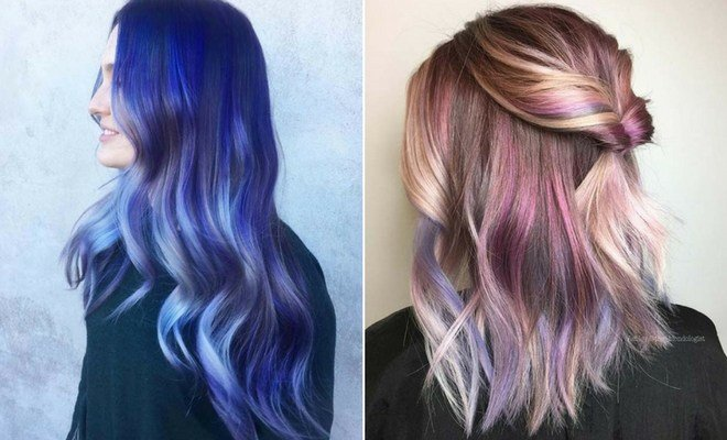 New 23 Unique Hair Color Ideas For 2018 Stayglam Ideas With Pictures