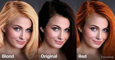 New Faceapp – How Would Ai Color My Hair Ideas With Pictures