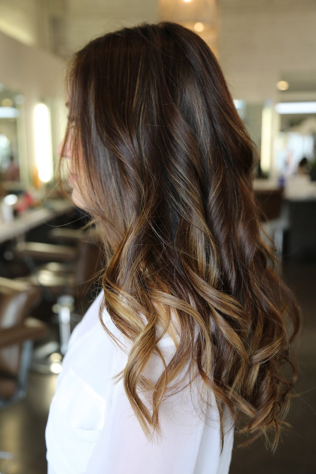New Rich Brunette And Caramel Highlights Neil George Ideas With Pictures