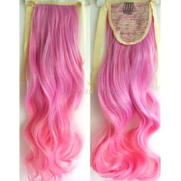 New Ladies Womens Long Curly Hair Hairpieces Wavy Ombre Hair Ideas With Pictures