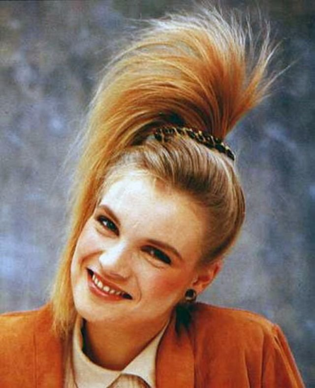 New 1980S The Period Of Women S Rock Hairstyles Boom Ideas With Pictures