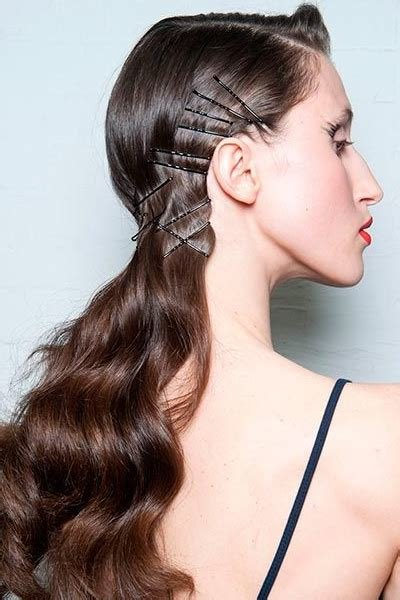 New 10 Simple Hairstyles You Can Do With Bobby Pins Daily Ideas With Pictures