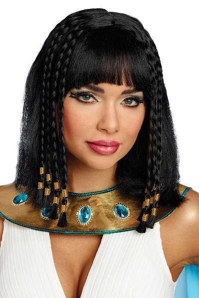 New Egyptian S*Xy Wig Cleopatra Shoulder Length Synthetic Ideas With Pictures