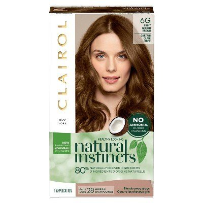 New Clairol Natural Instincts Non Permanent Hair Color 6G 12 Ideas With Pictures
