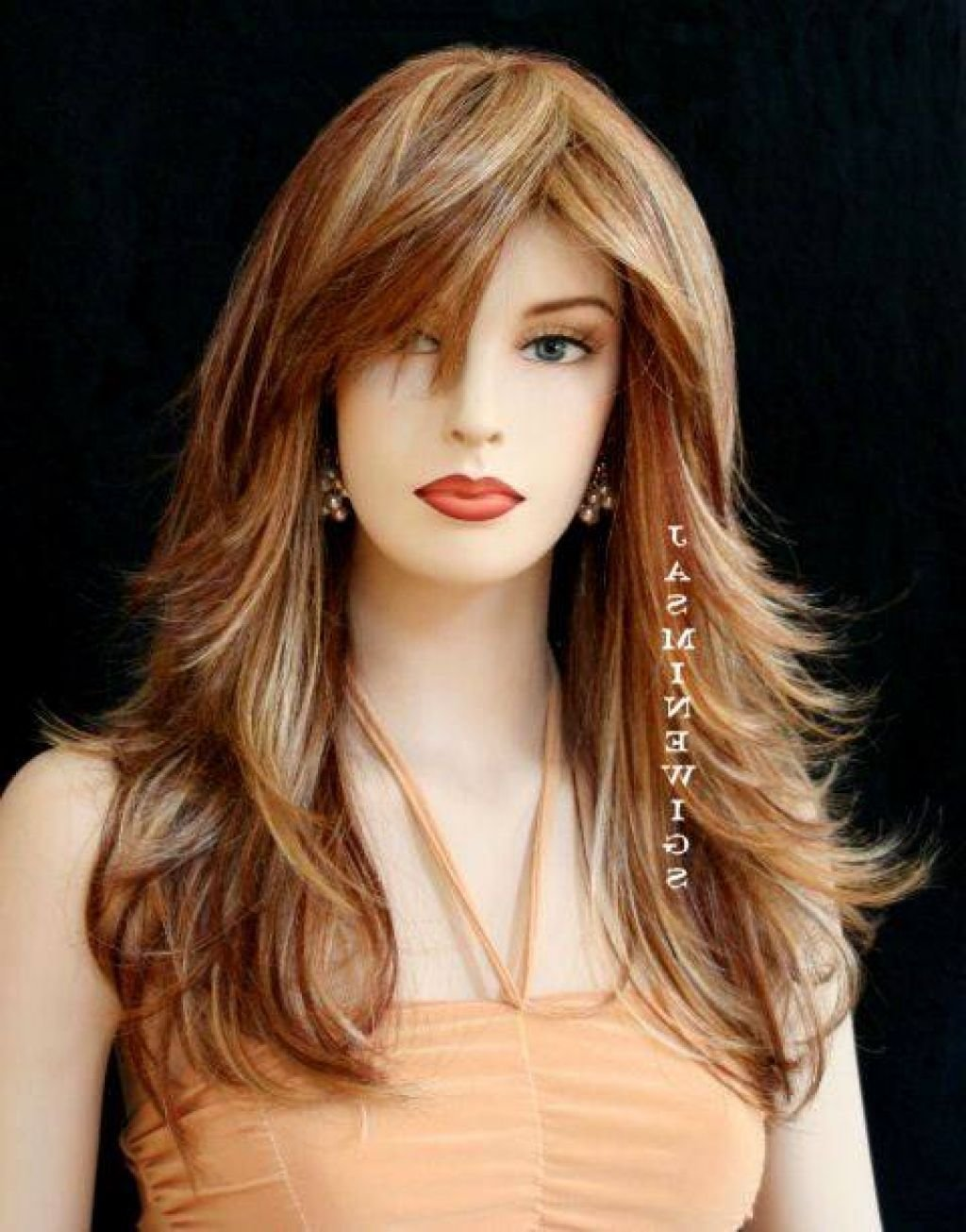 New Long Layered Hairstyles Pinterest Hairstyle For Women Man Ideas With Pictures