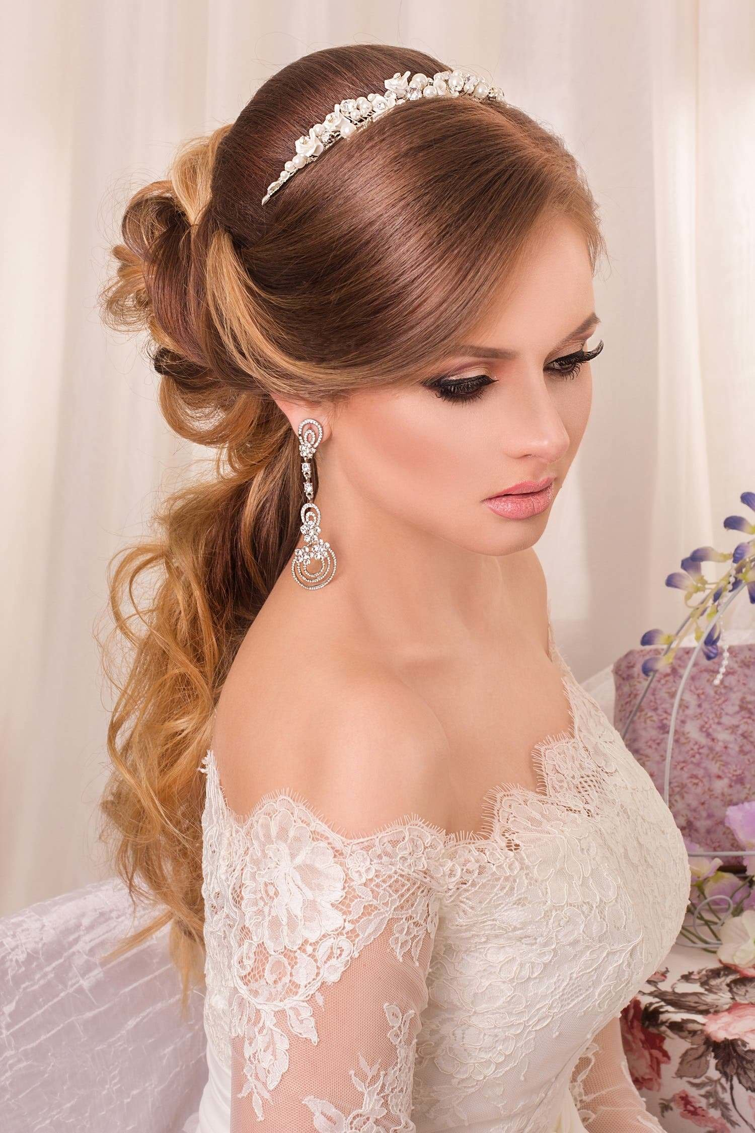 New Choosing The Perfect Hairstyle To Match Your Wedding Dress Ideas With Pictures