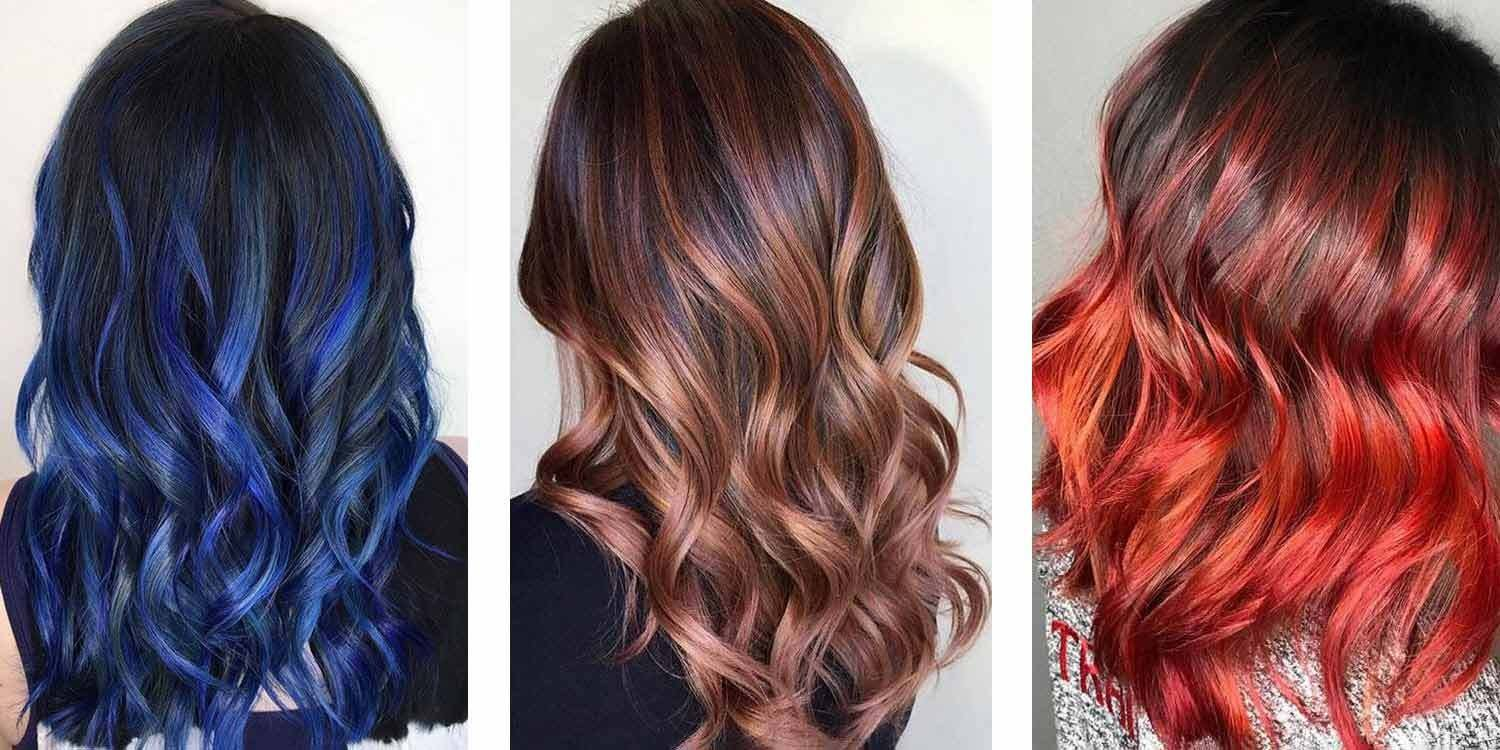 New 15 Hair Highlight Ideas For Dark Hair Matrix Ideas With Pictures