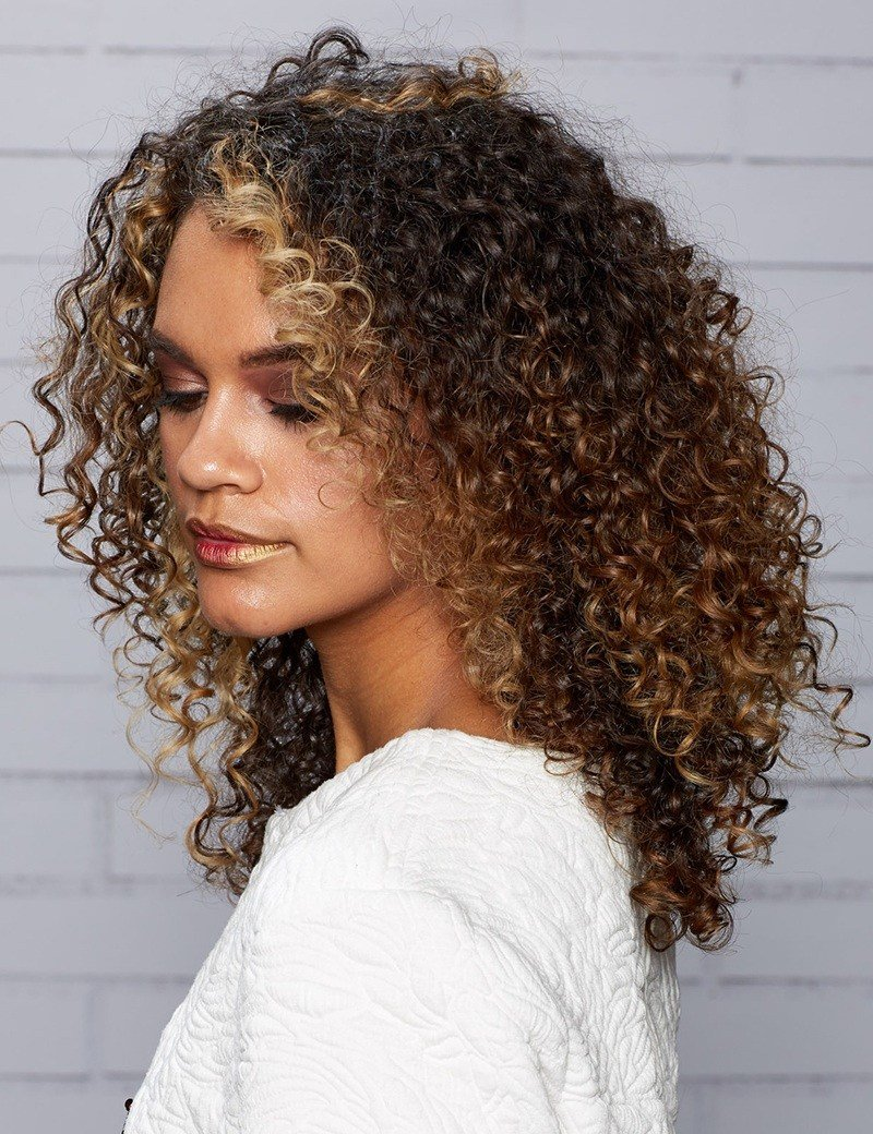 New Curly Hair Styles For Long And Short Hair Redken Ideas With Pictures
