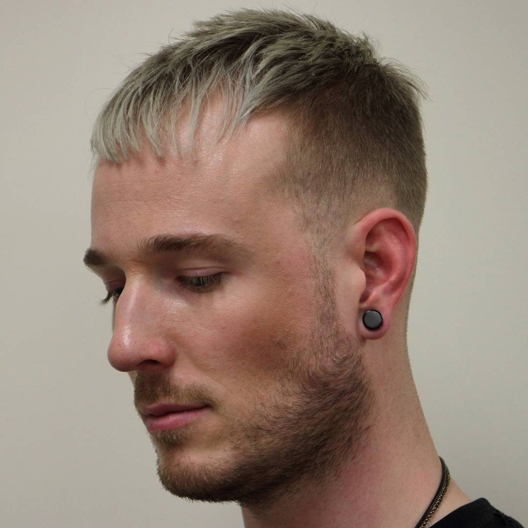 New Mens Hairstyles Combed Forward Fade Haircut Ideas With Pictures