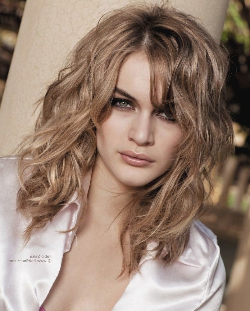 New Semi Long Hairstyles Ideas With Pictures - August 2020 ...