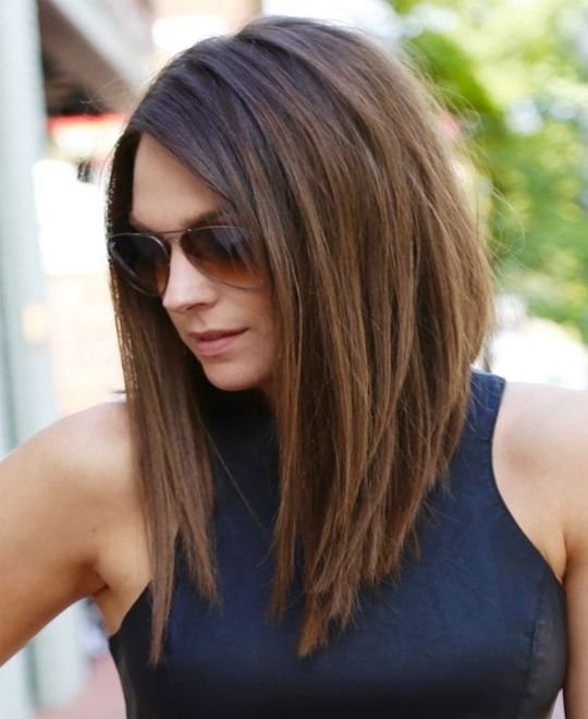 New 37 Haircuts For Medium Length Hair Hairstyles Haircuts For Men Women Ideas With Pictures