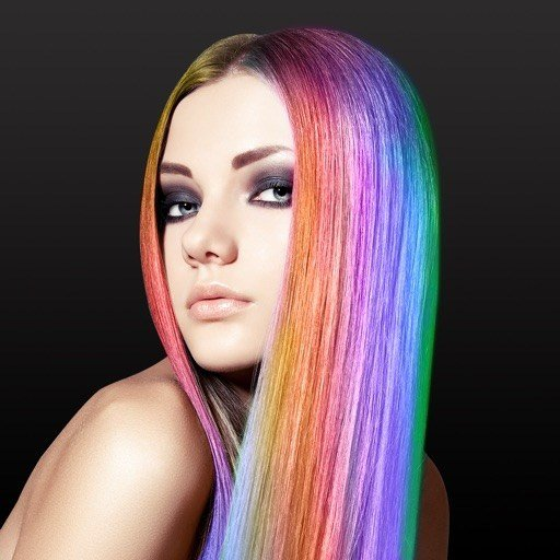 New Hair Color Changer Styles Salon Recolor Booth App Ideas With Pictures