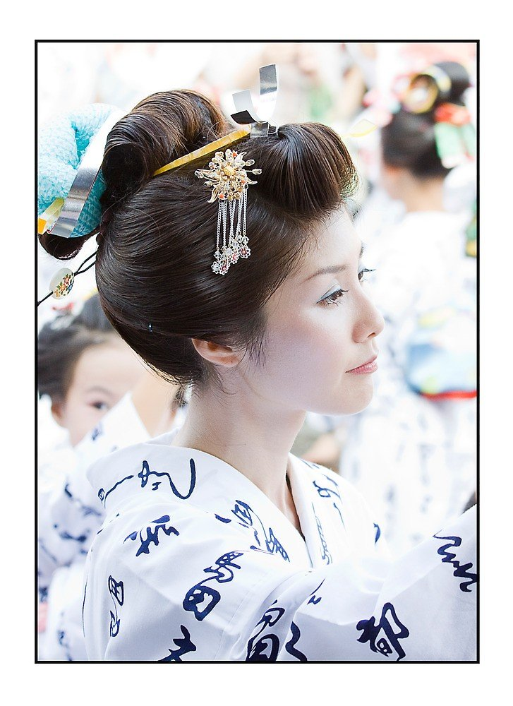 New Traditional Japanese Hairstyle By Adygarden Redbubble Ideas With Pictures