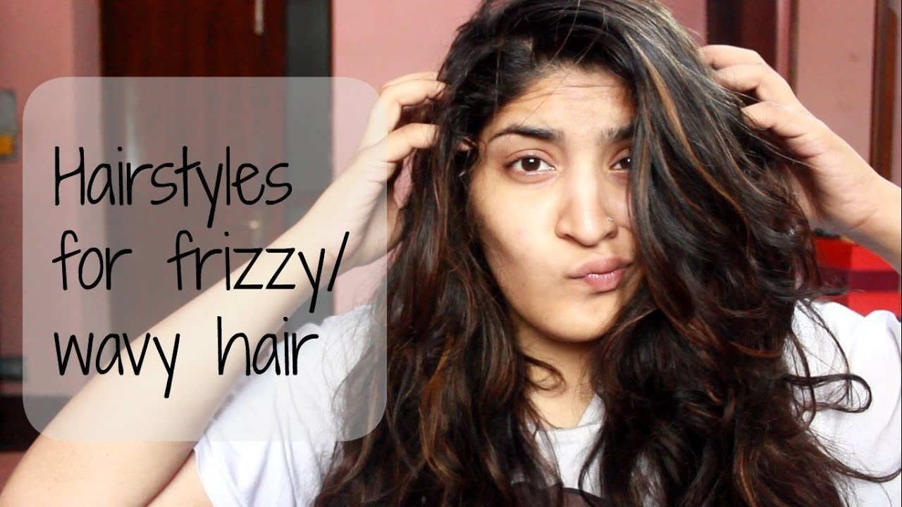 New Heatless And Easy Hairstyles For Frizzy Or Wavy Hair Youtube Ideas With Pictures