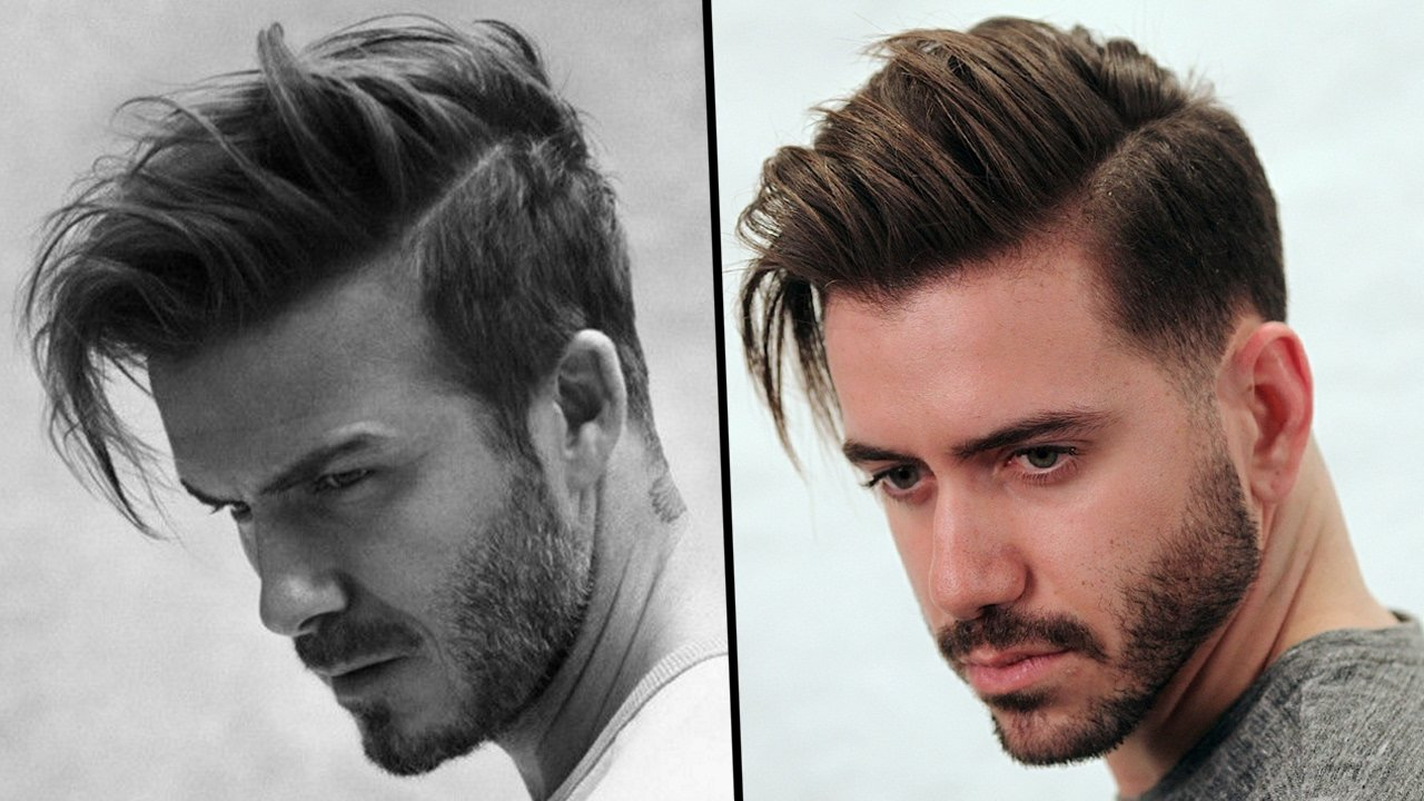 New David Beckham Hairstyle Tutorial How To Style Men's Hair Ideas With Pictures