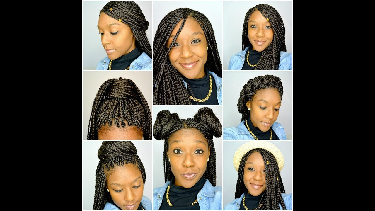 New 6 Styles For Box Braids Youtube Ideas With Pictures