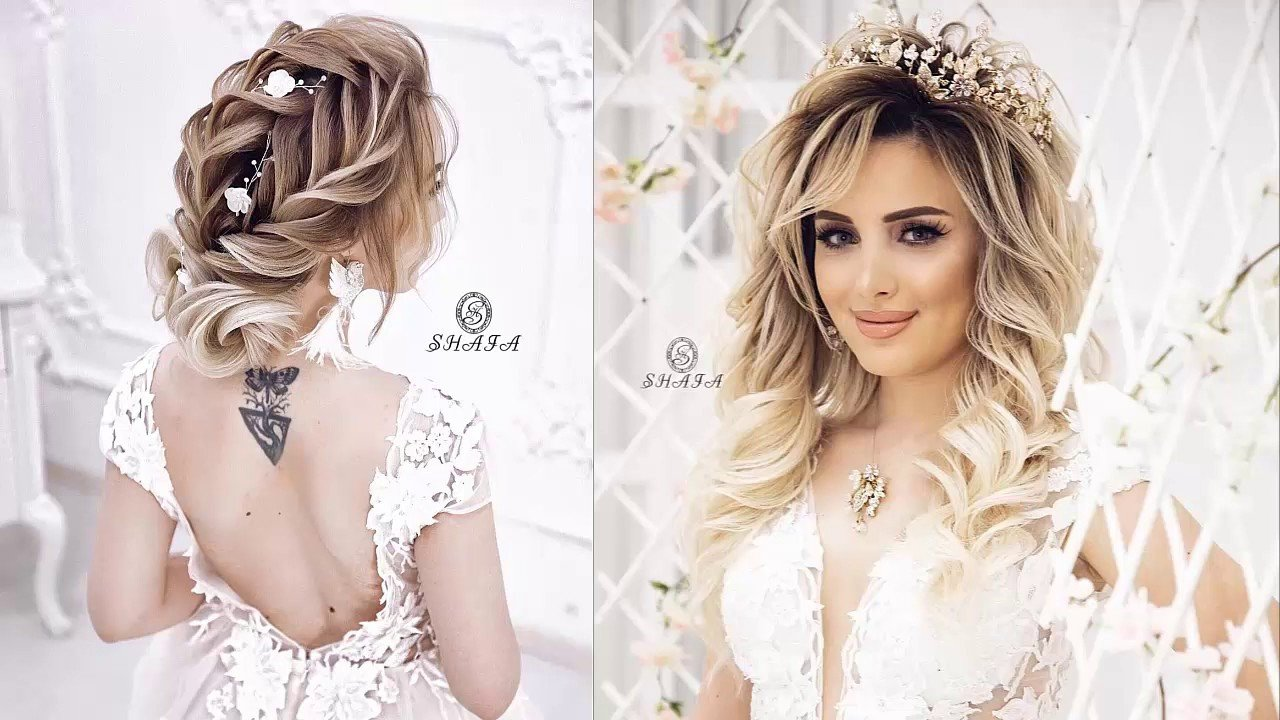 New Amazing Bridal Hairstyles 2019 New Wedding Hairstyles Ideas With Pictures