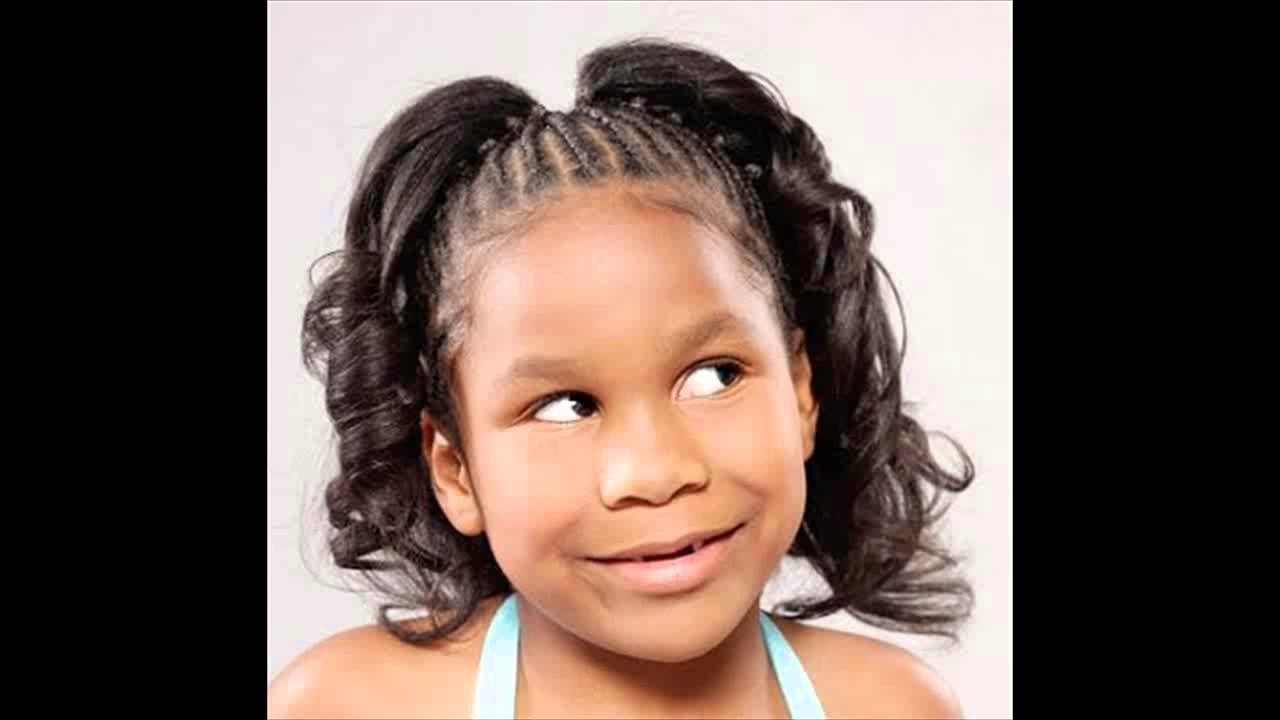 New African American Little Girl Kids Ponytail Hairstyles Ideas With Pictures Original 1024 x 768