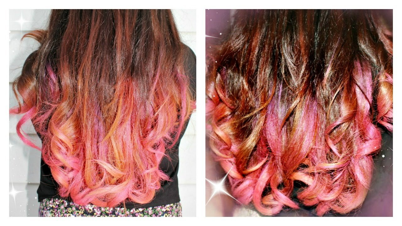 New Garnier Color Styler Intense Wash Out Hair Color Pink Ideas With Pictures