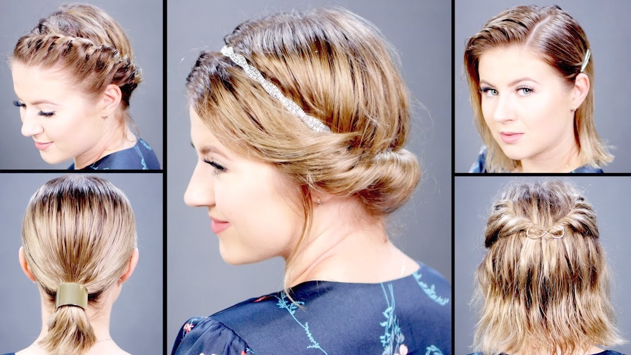 New 5 Hairstyles For Wet Hair Milabu Youtube Ideas With Pictures