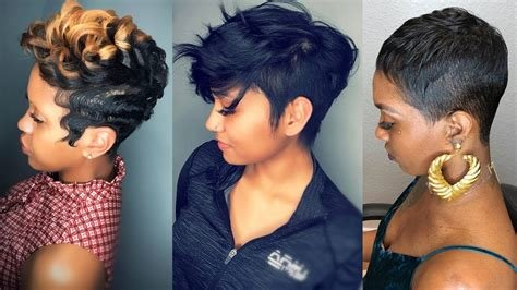New Short Haircuts And Hairstyles In 2019 For Black Women Ideas With Pictures