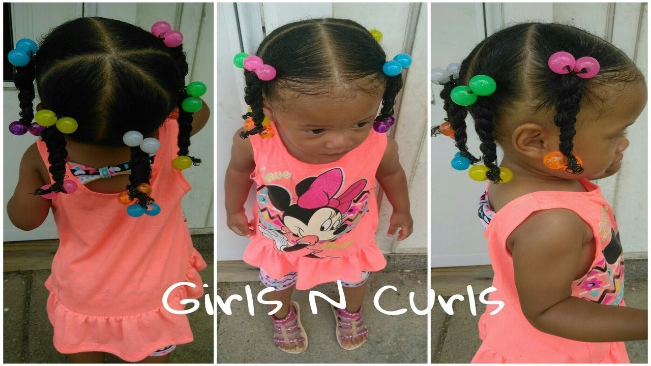 New Easy Hairstyle For 1 Year Old Toddler 5 Ponytails Ideas With Pictures Original 1024 x 768