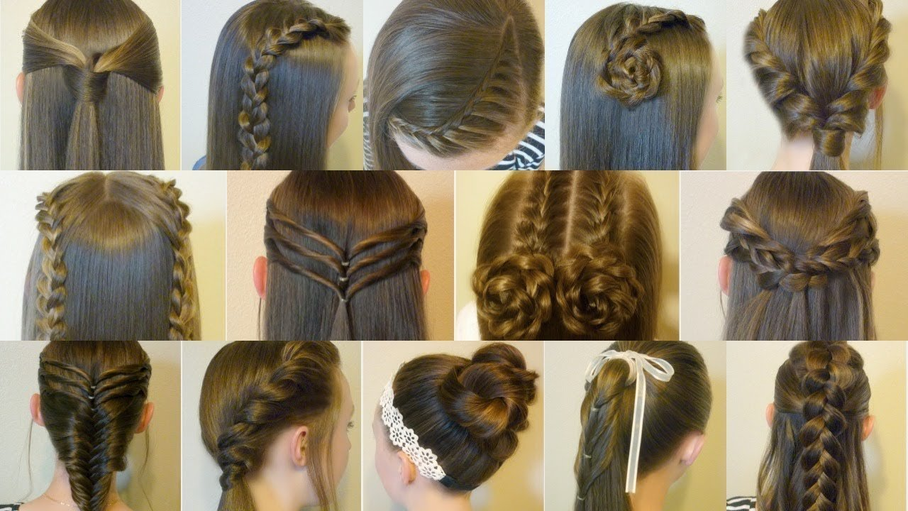 New 14 Easy Hairstyles For School Compilation 2 Weeks Of Ideas With Pictures