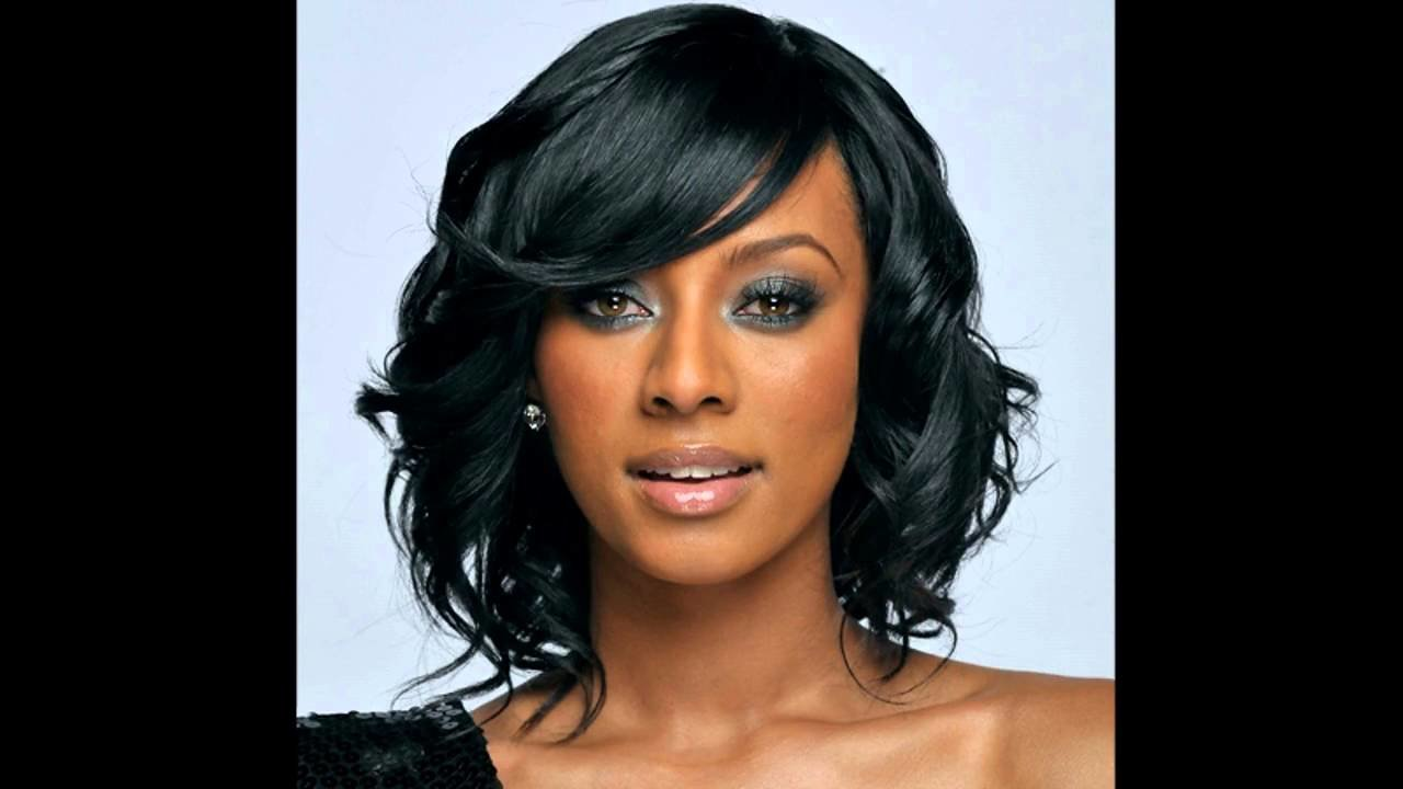 New Medium Hairstyles For African American Hair Youtube Ideas With Pictures