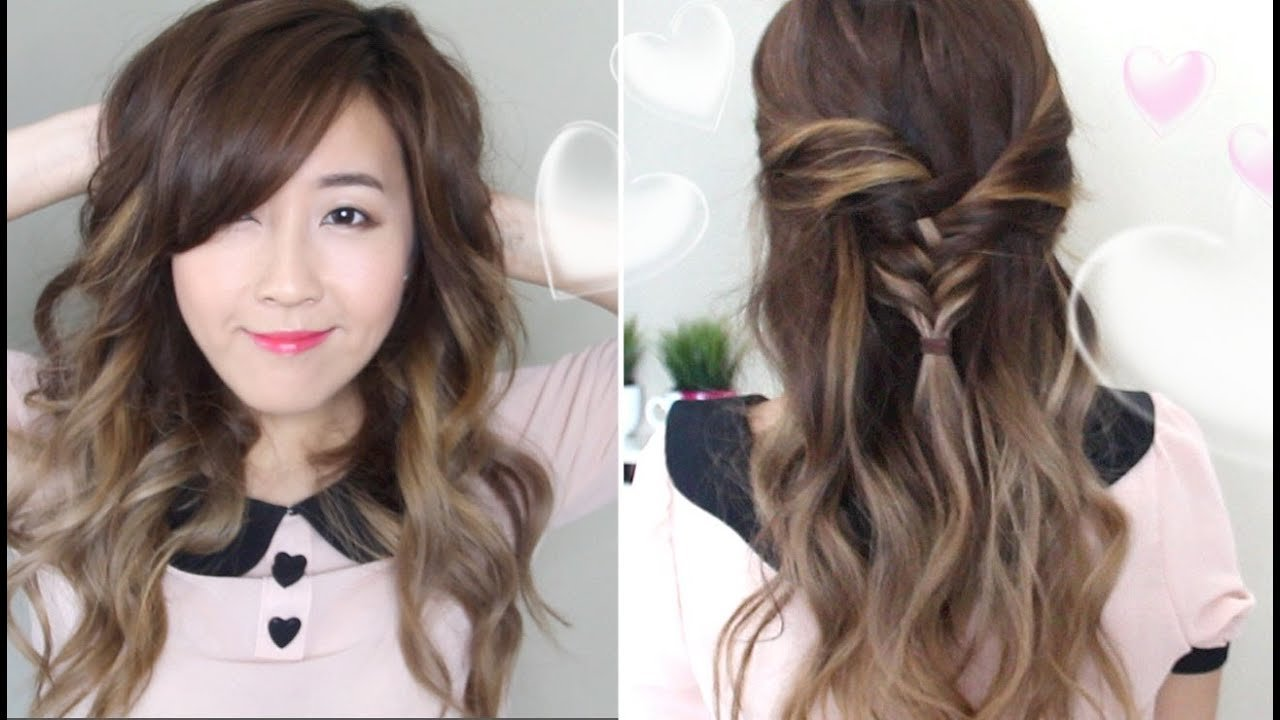 New 2 Romantic Hairstyles Youtube Ideas With Pictures