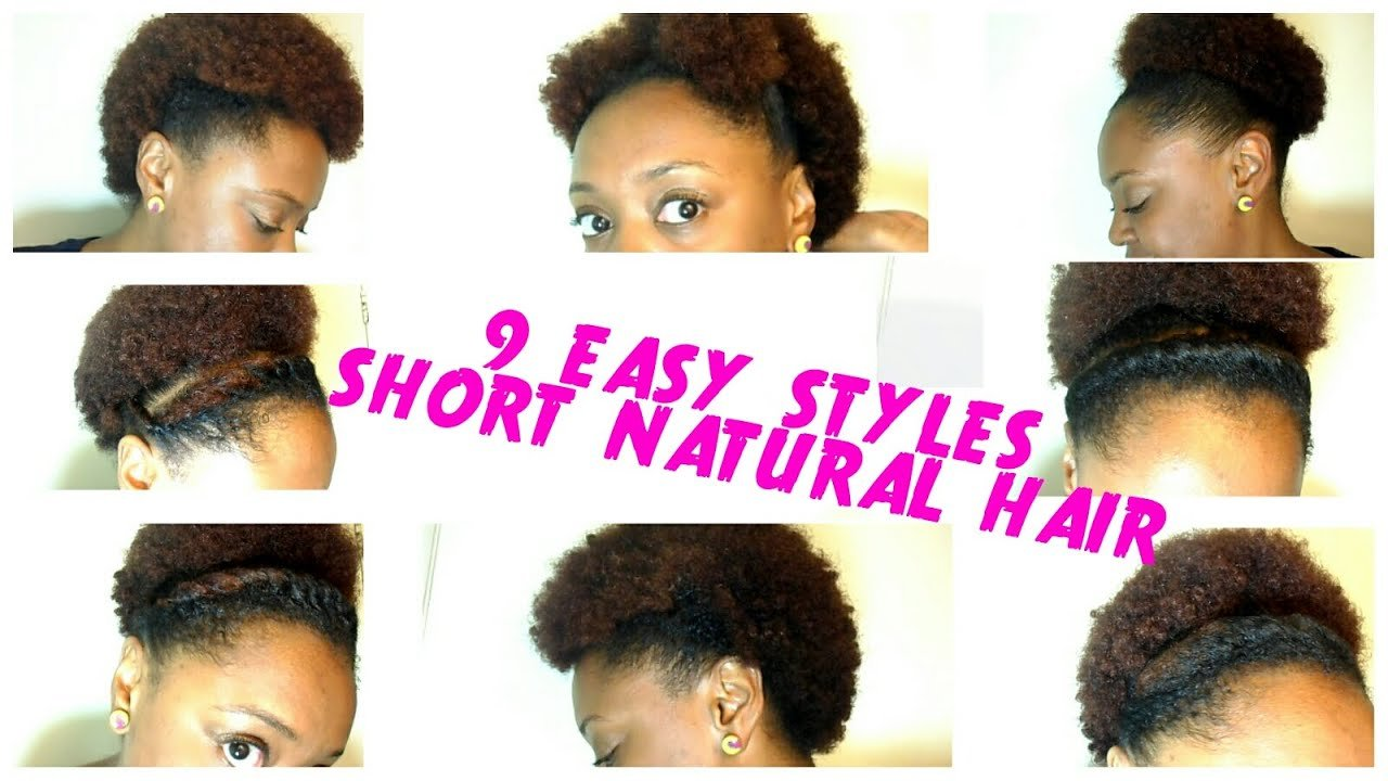 New 9 Back To School Hairstyles For Short Natural Hair The Curly Closet Youtube Ideas With Pictures
