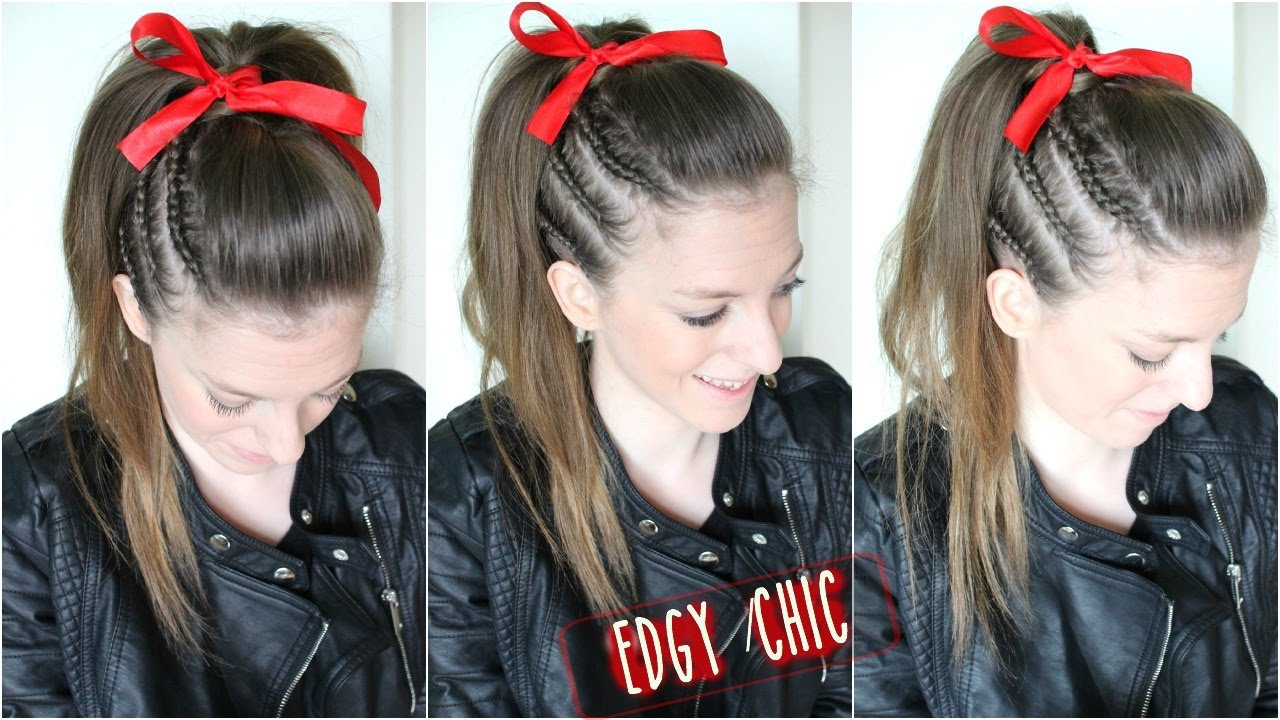 New Cheer Hair Tutorial Braidsandstyles12 Youtube Ideas With Pictures