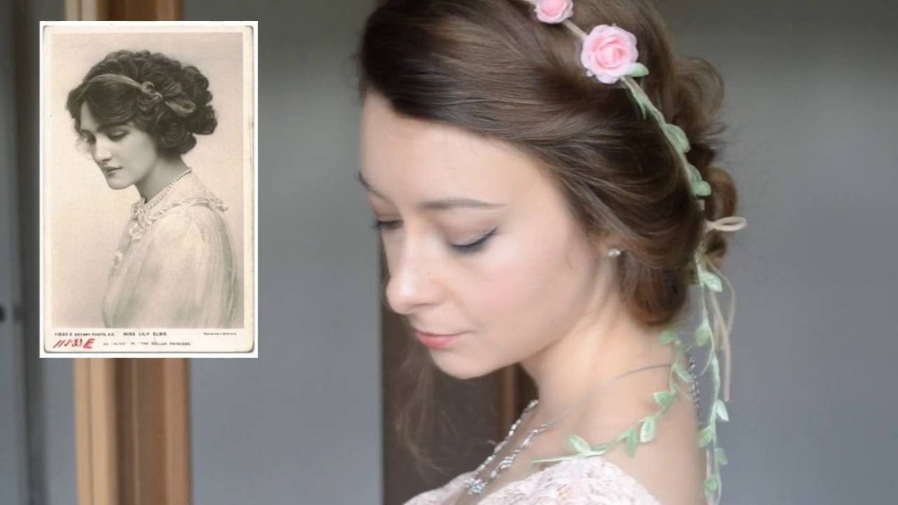 New 5 Easy Victorian Inspired Vintage Hairstyles Tutorial Kathryn Marie Youtube Ideas With Pictures