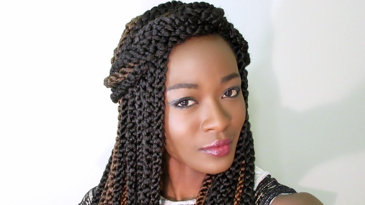 New 3D Cubic Twist Crochet Braids Ombre Vs Highlights Youtube Ideas With Pictures