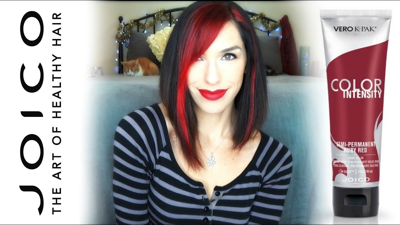 New Joico Hair Dye Review And Demo Joico Vs Splat How I Dye Ideas With Pictures