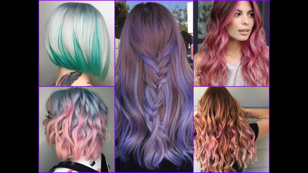 New 25 Trendy Two Tone Hair Color Styles 2018 Youtube Ideas With Pictures
