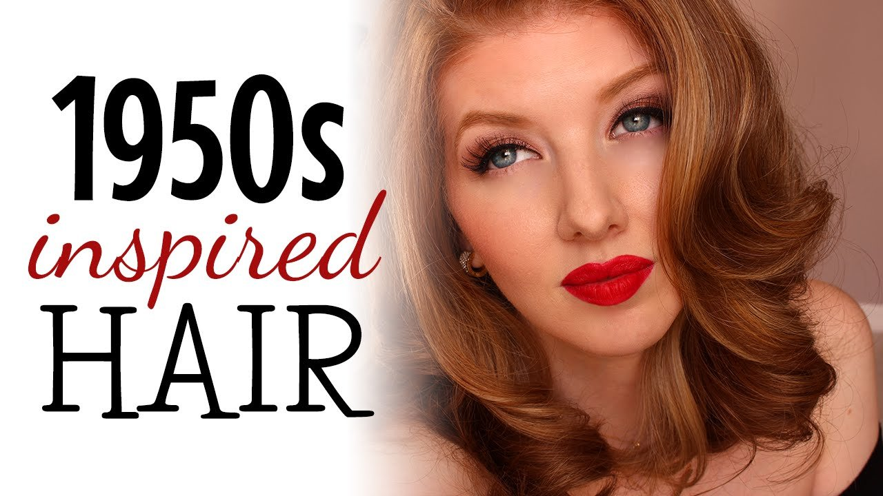 New 1950S Inspired Hair Tutorial Youtube Ideas With Pictures